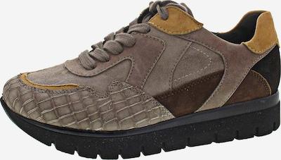 SEMLER Sneakers in braun / gelb / taupe, Produktansicht