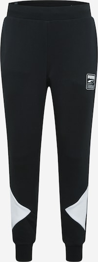 PUMA Sportbroek 'Rebel' in de kleur Zwart / Wit, Productweergave