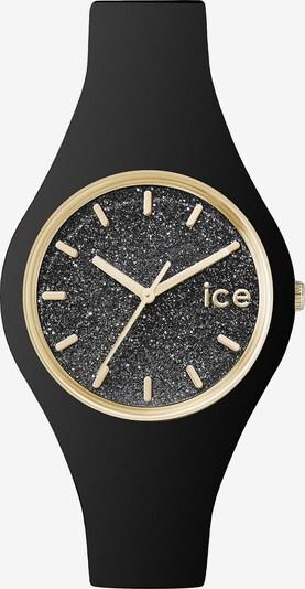 ICE WATCH Uhr in gold / graumeliert / schwarz, Produktansicht