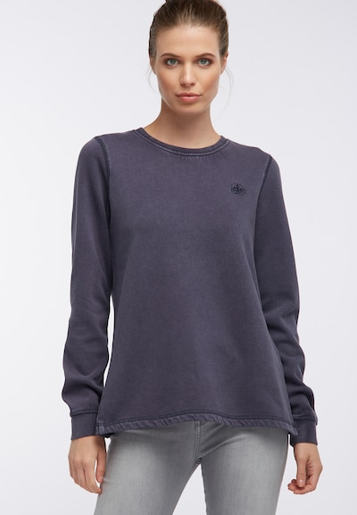DREIMASTER Sweat-shirt en bleu: Vue de face