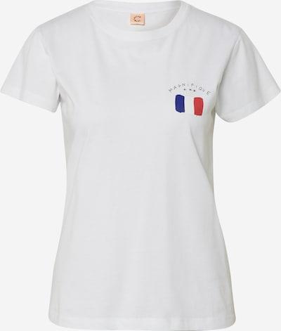 Custommade Shirt 'Panita Magnifique' in weiß, Produktansicht