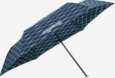 ergobag Regenschirm in navy / türkis, Produktansicht