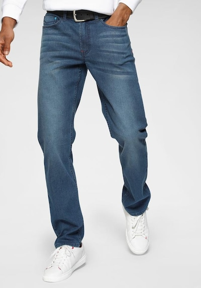 HIS JEANS Jeans 'FLUSH' in blue denim, Modelansicht