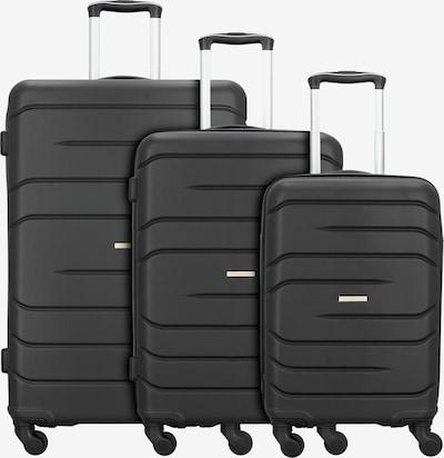 Nowi Kofferset 'Milano 5.0' in schwarz, Produktansicht