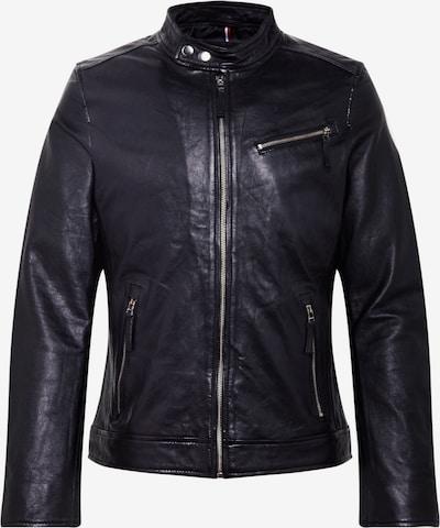 #LADC Lederjacke 'HUGO-DEN' in schwarz, Produktansicht