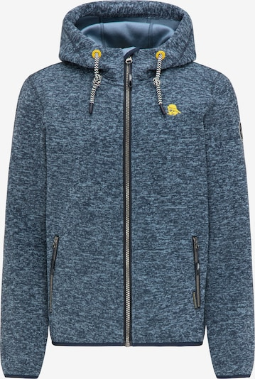 Schmuddelwedda Fleece jas in de kleur Blauw, Productweergave