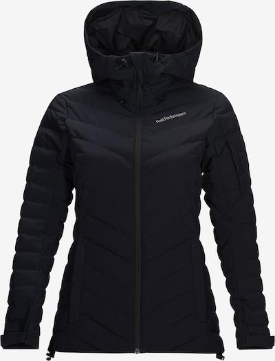 PEAK PERFORMANCE Zunanja jakna 'Frost' | črna barva, Prikaz izdelka