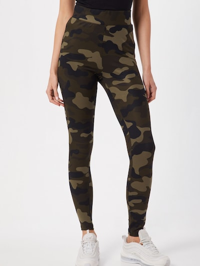 Urban Classics Leggings in khaki, Modelansicht