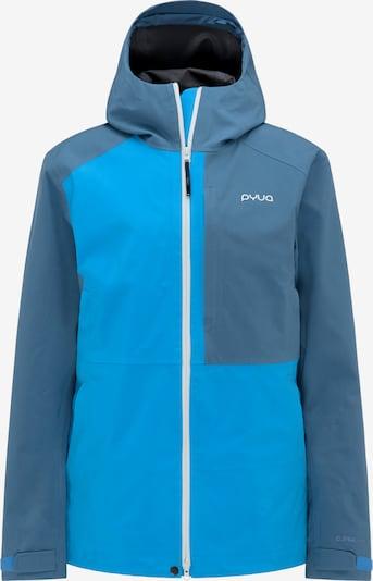 PYUA Skijacke 'Excite' in blau / himmelblau, Produktansicht