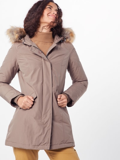 Canadian Classics Winterparka 'Fundy Bay' in creme: Frontalansicht