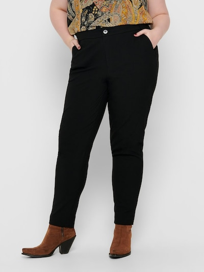 ONLY Carmakoma Hose in schwarz, Modelansicht