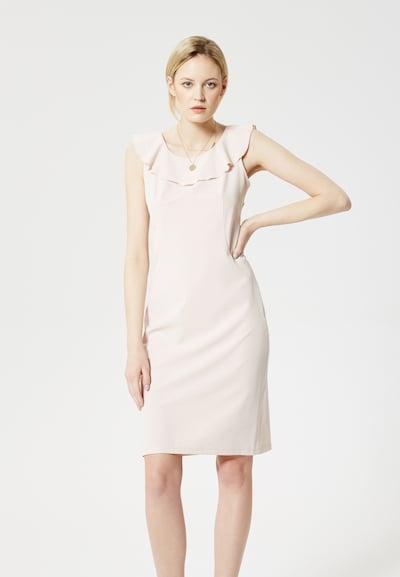 RISA Kleid in nude, Modelansicht