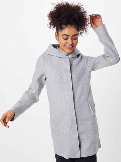 ONLY Manteau mi-saison 'ONLSIRI' en gris clair, Vue avec modèle