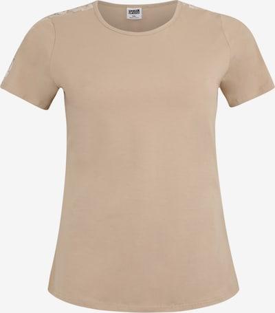 Urban Classics Curvy T-shirt en sable, Vue avec produit