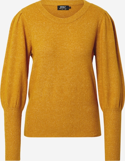 ONLY Sweter w kolorze musztardowym, Podgląd produktu