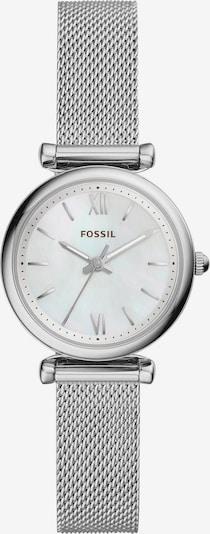 FOSSIL Analogna ura | srebrna barva, Prikaz izdelka