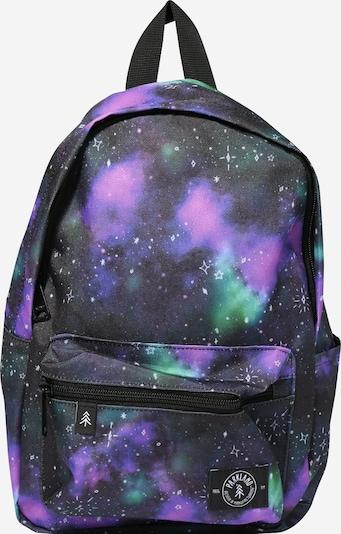 PARKLAND Rucksack 'Edison Milky Way' in blau / lila, Produktansicht