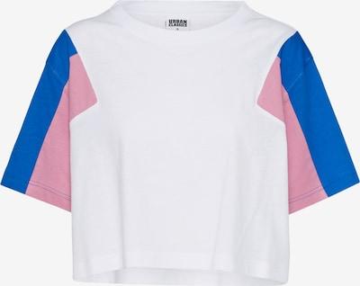 Urban Classics Shirt in blau / rosa / weiß: Frontalansicht