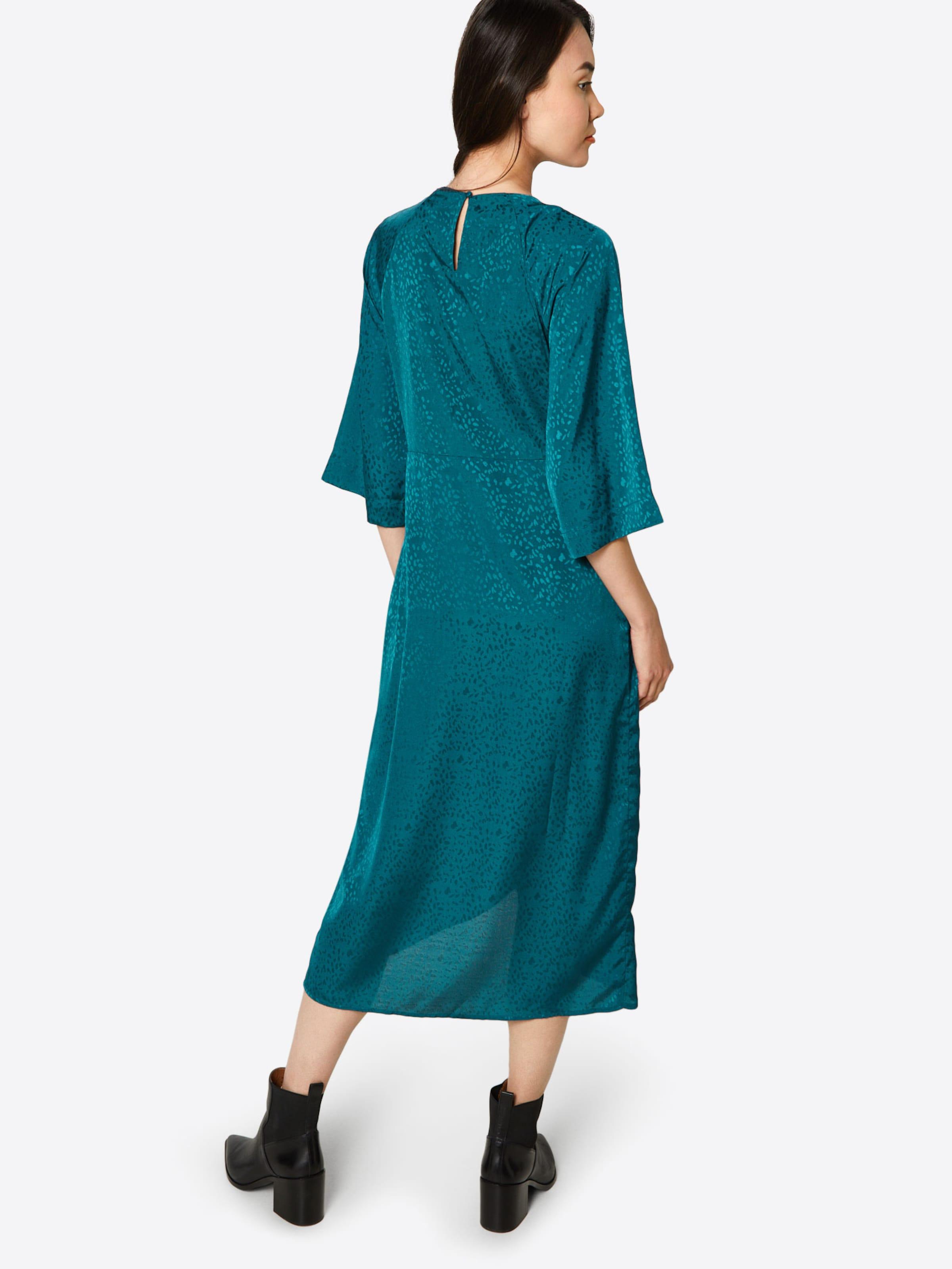4 3 Smaragd Vila Kleid 'viliva Sleeve' In rxWCeBod