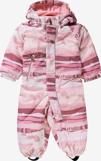 Reima Schneeanzug 'Puhuri' in rosa / rosé / hellpink, Produktansicht