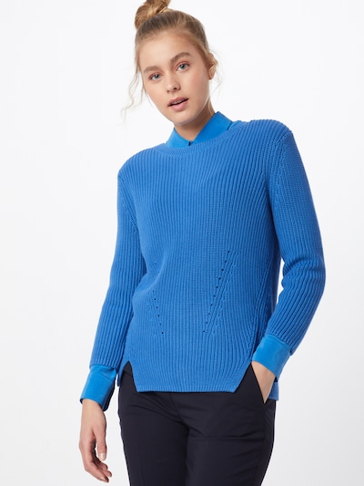 HUGO Pullover 'Serlina' in blau: Frontalansicht