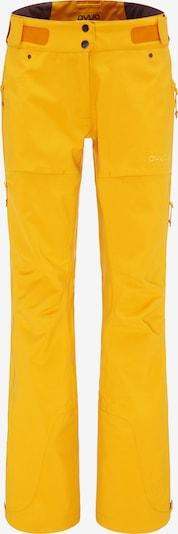 PYUA Skihose 'Release' in gelb / orange, Produktansicht