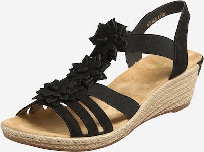 RIEKER Sandalette in schwarz, Produktansicht