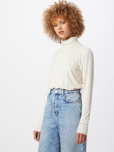 VILA Koszulka 'Solitta' w kolorze beżowym, Podgląd na modelu(-ce)