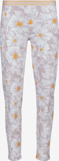 Skiny Pyžamové kalhoty 'Earth Sleep' - žlutá / mix barev / růžová / bílá, Produkt