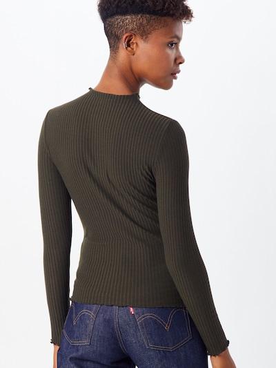 ONLY Džemperis 'EMMA' pieejami olīvzaļš: Aizmugures skats