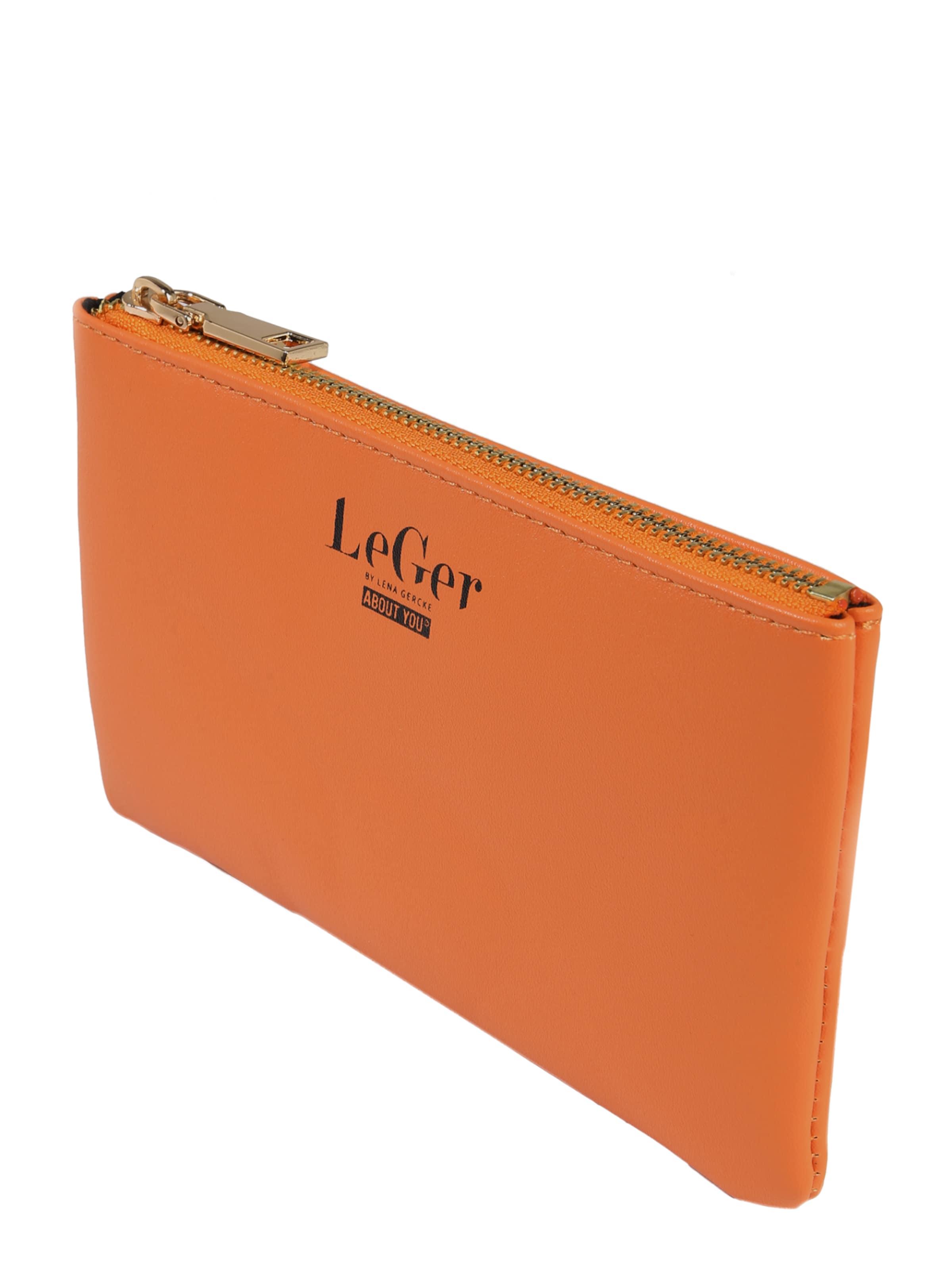 By Gercke OrangeTransparent Lena In Clutch Leger 'elaine' yvwmnN80O