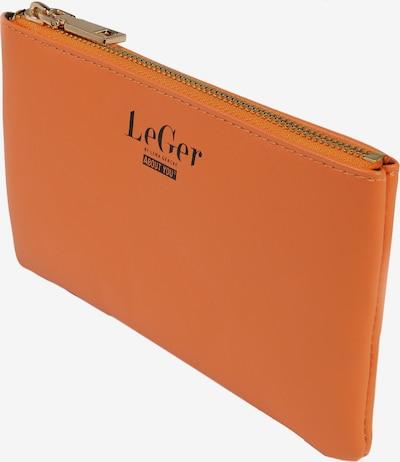 LeGer by Lena Gercke Pochette 'Elaine' en orange / transparent: Vue de profil