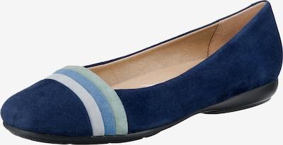 GEOX Ballerina 'D Annytah' in blau / opal / hellblau / pastellgrün, Produktansicht