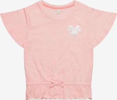 ESPRIT T-Shirt in lachs / weiß, Produktansicht