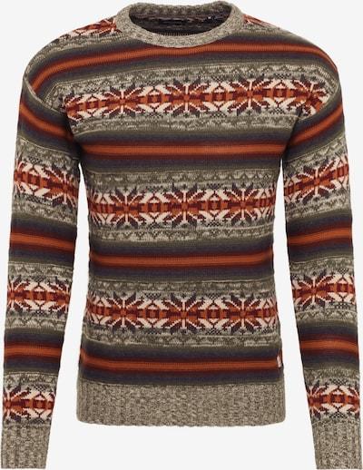 JACK & JONES Pullover 'ZACHARY' in mischfarben, Produktansicht