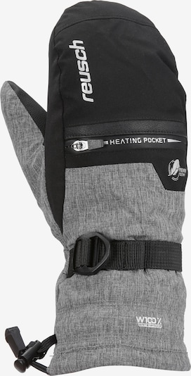 REUSCH Skihandschuhe 'Luis' in graumeliert / schwarz, Produktansicht