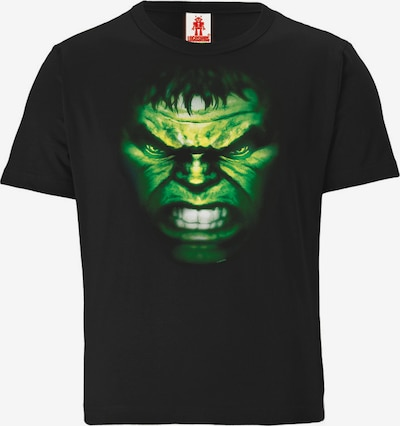 LOGOSHIRT T-Shirt 'Hulk' in schwarz, Produktansicht