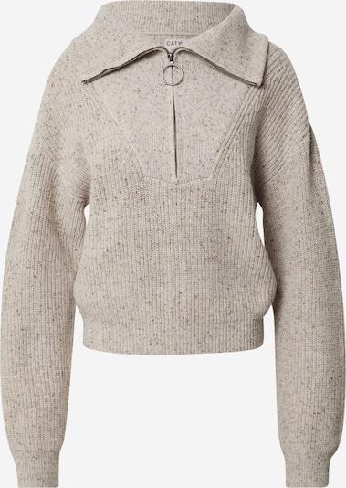 CATWALK JUNKIE Pullover 'Hunter' in beige / schwarz, Produktansicht