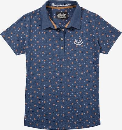 HANGOWEAR Trachtenshirt in dunkelblau, Produktansicht
