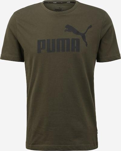 PUMA Funkční tričko 'ESS Logo' - khaki / černá, Produkt