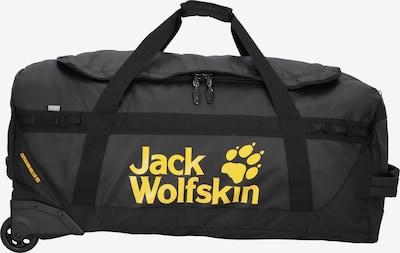 JACK WOLFSKIN Reisetasche 'Expedition' in gelb / schwarz, Produktansicht