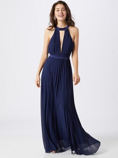 Boohoo Kleid 'Occasion' in blau / dunkelblau, Modelansicht