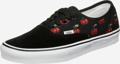 VANS Sneaker 'Authentic' in grün / rot / schwarz / weiß, Produktansicht