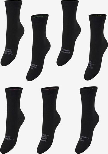 BENCH Socken in schwarz / weiß, Produktansicht