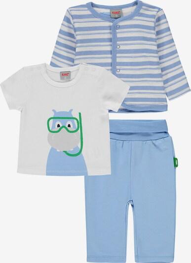 KANZ Set in blau / weiß, Produktansicht