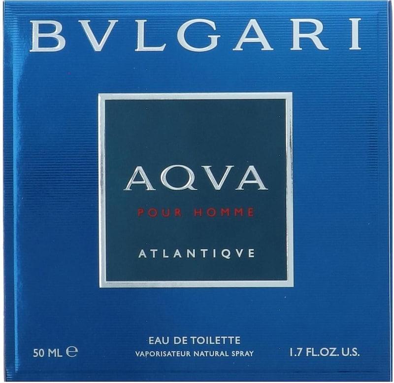 BVLGARI Eau de Toilette 'Aqva pour Homme Atlantiqve'