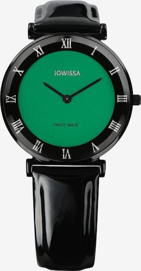 JOWISSA Quarzuhr 'Roma' in grasgrün / schwarz, Produktansicht