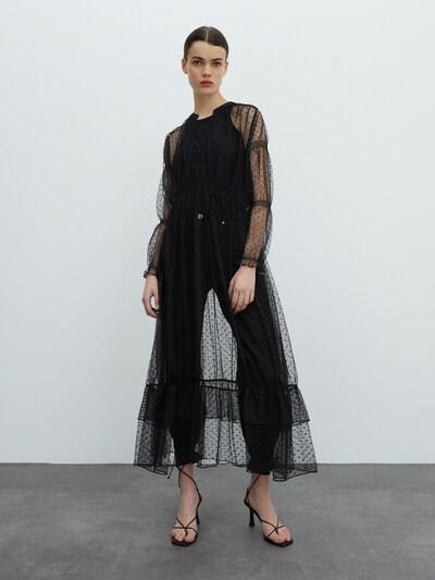 EDITED Šaty 'Marcia' - čierna, Model/-ka