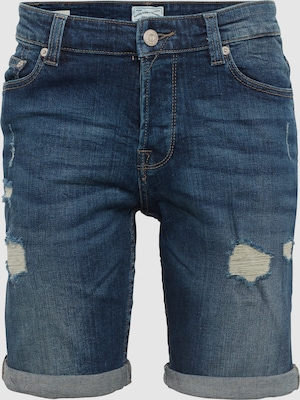 Only & Sons Jeans 'onsPLY SHORTS M BLUE DAMAGE CR 8603 NOOS' in Indigo