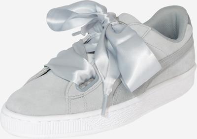 PUMA Sneaker 'Suede Heart Safari' in hellgrau / weiß, Produktansicht